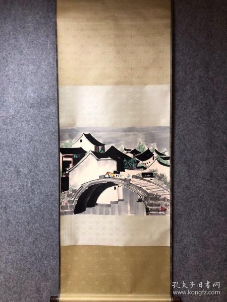 吴冠中风景