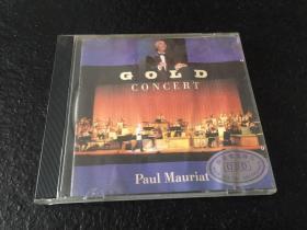 CD:保罗莫里哀Gold Concert,宝丽金唱片中图进口