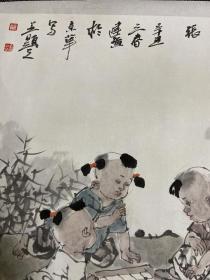 中美协大家姚有多关门弟子姚建广国画