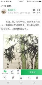 河北著名画家石田《岁寒之友》