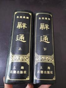 辞通(上下)