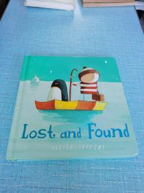 LostandFound[Boardbook] 远在天边 英文原版绘本 Lost and Found 迷路的小企鹅 摘星星的孩子系列智慧小孩纸板书