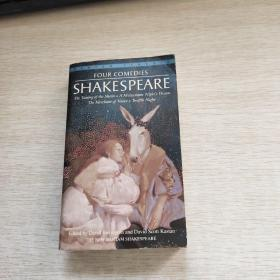 FOUR COMEDIES SHAKESPEARE