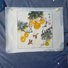 廖玉明   画葫芦