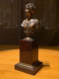 法国古董 希腊女神雕塑