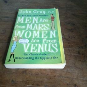 英文原版;MEN ARE FROM MARS WOMEN ARE FROM VENUS(男人来自火星,女人来自金星)【英文版】
