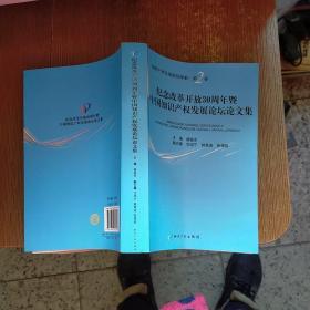 纪念改革开放30周年暨中国知识产权发展论坛论文 实物拍图  无勾画