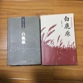 陈忠实经典著作:白鹿原两个版本合售