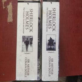 英文版《SHERLOCK HOLEMS VOL》1.2  两册合售 福尔摩斯探案  巨厚 私藏 品佳 书品如图