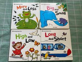 【4本合售】Comparing ls Fun 《High and Low》《Big and Small 》《More and Less 》《Long and Short》