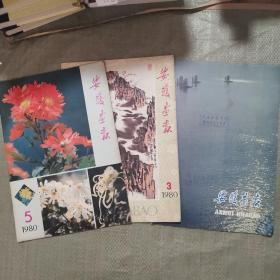 安徽画报(1980年3、5、6)三本合售