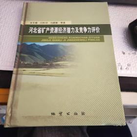 河北省矿产资源经济潜力及竞争力评价