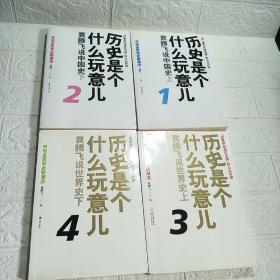 历史是个什么玩意儿 (1-4)袁腾飞说中国史 上下 上下 全四册只有一张光盘