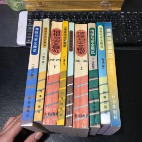 情报与安全概览. 【1983-1999年】9册合售