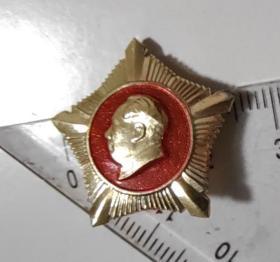五角星式毛主席纪念章