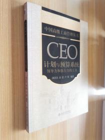 CEO计划与预算系统:领导力和执行力的工具