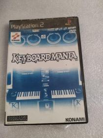 游戏光盘playstation2KEYBOARDMANIA
