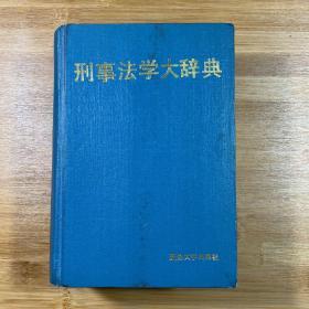 刑事法学大辞典