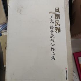 风雨风雅   王克  薛景辰书法作品集