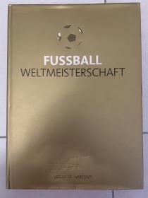 【德国足球原版】世界杯足球史,416p,精装