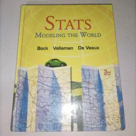 Stats:ModelingtheWorld[WithCDROM](统计:世界建模(第3版)精装 附光盘 大16开 实物图