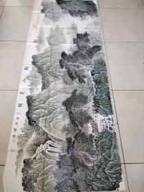 惠民县国画名家陈謙儒小六尺国画作品