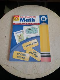 Evan-MoorSkillSharpeners技能铅笔刀MathGrade·K幼儿园大班数学美国加州教辅