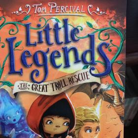 Little legends the great troll rescue