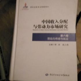 中国收入分配与劳动力市场研究第六卷劳动力市场与就业