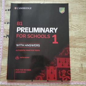 剑桥PET考试 B1 PRELIMINARY FOR SCHOOLS