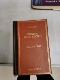 OPINIONI DI UN CLOWN【满30包邮】