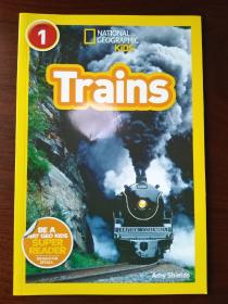 National Geographic Readers: Trains【正版全新】