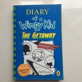 现货小屁孩日记12 英文原版 Diary of a Wimpy Kid The Getaway 逃跑去度假漫画书中小学幽默趣味读物 杰夫金尼儿童畅销小说6-12岁