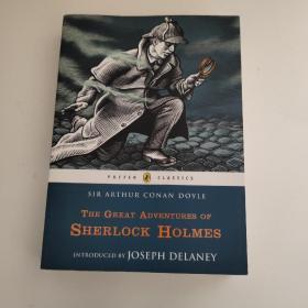 The Great Adventures of Sherlock Holmes (Puffin Classics) 福尔摩斯大冒险 9780141332499