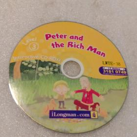Peter and the Rich Man:Level③  LWTE-3B/3181.0749   CD-ROM光盘1张(无书   仅光盘1张)