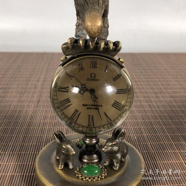 鹰兔铜西洋表