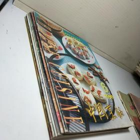 中国烹饪1998年   6 7 8 9 11 12   (6本合售)