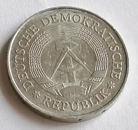 东德德意志民主共和国民主德国1马克保真