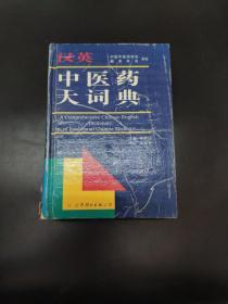 汉英中医药大词典