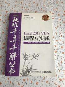 疑难千寻千解丛书 Excel 2013 VBA编程与实践