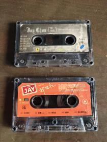 周杰伦 磁带 11月的萧邦+我很忙 引进版带体 音质赞