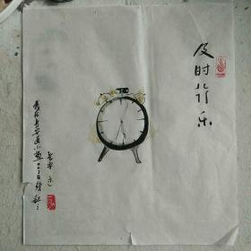 【0028】长安二少作品《及时行乐》,原创手绘,接受定制,绝无仅有!