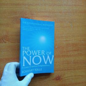 The Power of Now:A Guide to Spiritual Enlightenment  32开 【书内有字迹】