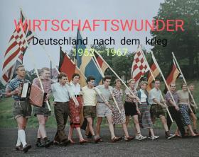 二战后的德国1952一1967 的经济。(英法德三语)