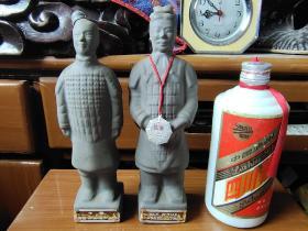 西安兵马俑酒瓶等一组