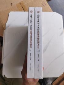 办理未成年人案件适用法律规范全书(套装上下册)
