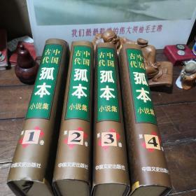 中国古代孤本小说集(1.2.3.4)