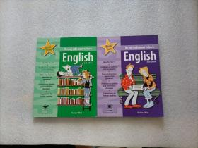 so you really want to learn:English Book Three + English Book Two   两本合售