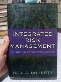 2000年,英文原版,精装带书衣,综合风险管理,Integrated Risk Management: Techniques and Strategies for Managing Corporate Risk