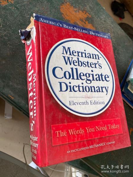 Merriam-Webster's Collegiate Dictionary